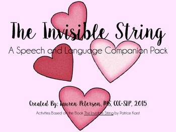 The Invisible String Speech and Language Companion Pack