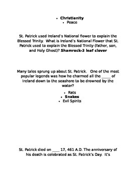 St. Patrick's Game