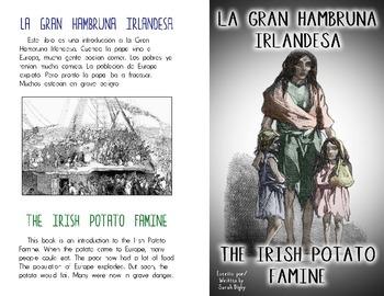 Irish Potato Famine/Gran Hambruna Irlandesa –Double-sided Bilingual Book
