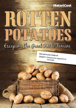 The Irish Potato Famine & Migration Push/Pull Factors Resource Bundle