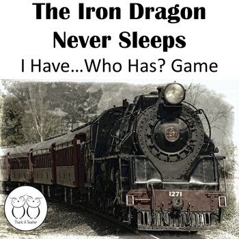 The Iron Dragon Never Sleeps I Have Who Has Game First Half and Second Half Sets