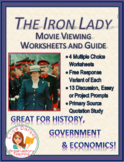 The Iron Lady Movie Worksheets / Tests and Essay / Discussion Topics