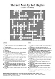 The Iron Man by Ted Hughes - Vocabulary Crossword Chapter 4
