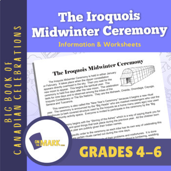 The Iroquois Midwinter Ceremony Lesson Plan