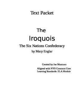 The Iroquois: the Six Nations Confederacy Text Companion