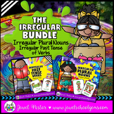 Irregular Past Tense Verbs and Irregular Plural Nouns Activities BUNDLE