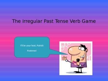 The Irregular Past Tense Verb Game