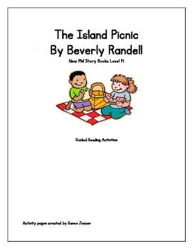 The Island Picnic by Beverly Randell New PM Story book Level 14