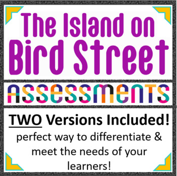 The Island on Bird Street Novel Test