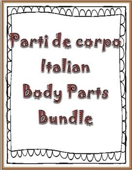 Italian Body Parts Bundle