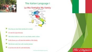 Italian 4 - Novice - Family II