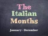 The Italian Months PowerPoint