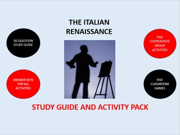 The Italian Renaissance: Study Guide and Activity Pack