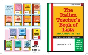 The Italian Teacher's Book of Lists-Grades 6-12
