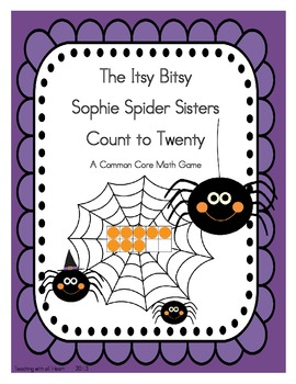 The Itsy Bitsy Sophie Spider Sisters Count to Twenty