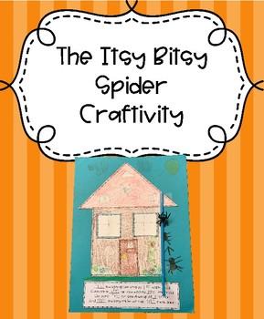 The Itsy Bitsy Spider Craftivity