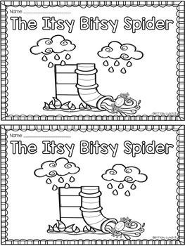 The Itsy Bitsy Spider Emergent Reader
