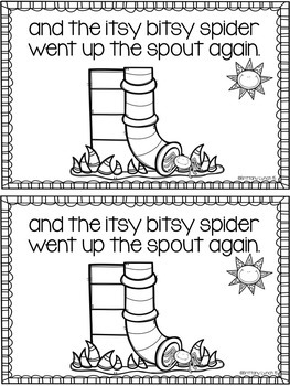 The Itsy Bitsy Spider Emergent