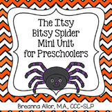 The Itsy Bitsy Spider Mini Unit for Preschoolers