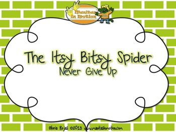 The Itsy Bitsy Spider – Never Give Up, a bilingual lullaby