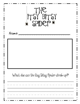 The Itsy Bitsy Spider Nursery Rhyme - What Else Can the Spider Climpb Up?