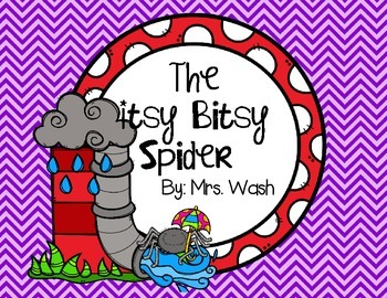 The Itsy Bitsy Spider Poem and Emergent Reader
