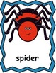 Itsy Bitsy Spider Posters and Writing Activities, Spiders, Write the Room