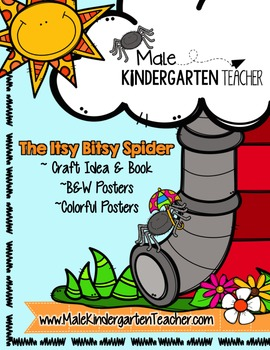 The Itsy Bitsy Spider Printable Book and Posters