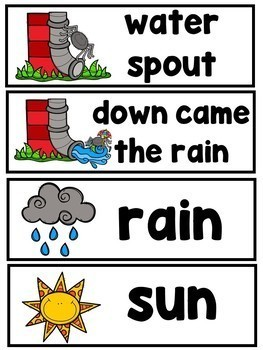 The Itsy Bitsy Spider (A Sight Word Emergent Reader and Teacher Lap Book)