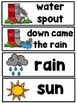 The Itsy Bitsy Spider (A Sight Word Emergent Reader)