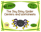 The Itsy Bitsy Spider Activities