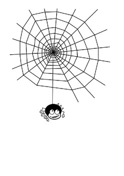The Itsy Bitsy Spider Word Search