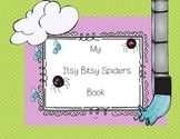The Itsy Bitsy Spiders Emergent Reader