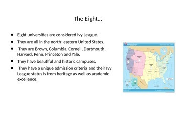 The Ivy League Universities