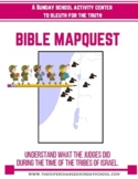 The JUDGES OF ISRAEL in a BibleMapquest
