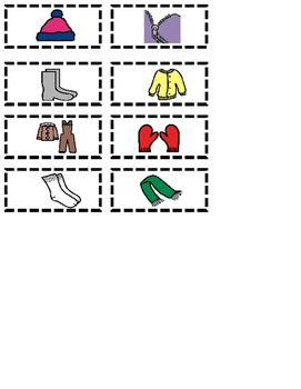 The Jacker I Wear In The Snow Worksheet Differentiated (Autism, Speech)