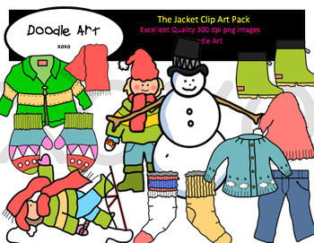 The Jacket Clipart Pack