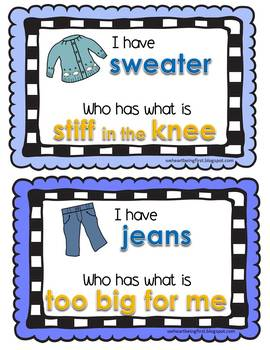 The Jacket I Wear In The Snow Book Activity K-2
