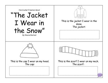 The Jacket I Wear In The Snow Mini Book Companion