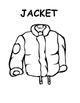 The Jacket I Wear in The Snow Printable book/questions (Autism, Speech, Winter)