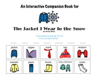 The Jacket I Wear in the Snow: A Companion Booklet
