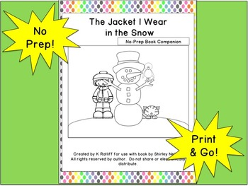 The Jacket I Wear in the Snow:  No Prep Book Companion