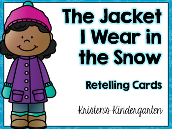 Jacket I Wear In The Snow Teaching Resources Teachers Pay Teachers