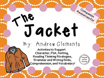 The Jacket by Andrew Clements: A Complete Novel Study!