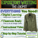 The Jacket by Gary Soto - Text Dependent Analysis Expository Writing