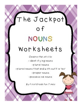 The Jackpot of Nouns Worksheets