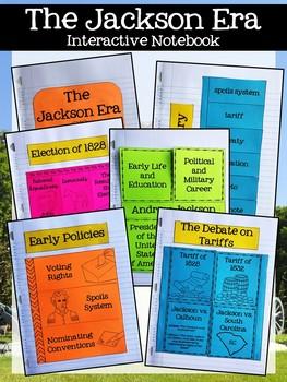 The Jackson Era Interactive Notebook