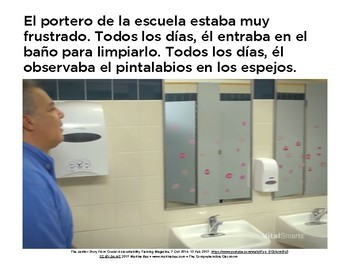 The Janitor Story - MovieTalk lesson plans in Spanish