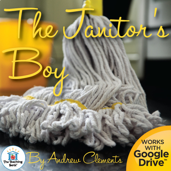 The Janitor's Boy Novel Study Book Unit