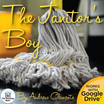 The Janitor's Boy Novel Study Book Unit